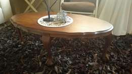 Antique ball and claw coffee table.