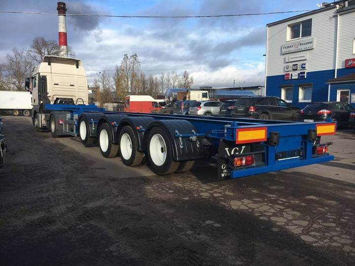 new goodwill 94480d container chassis semi - 2019