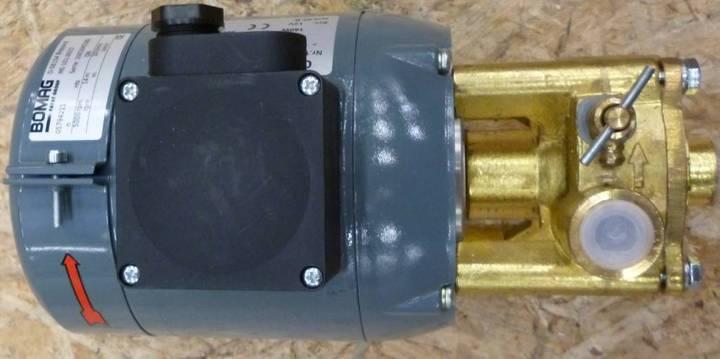 BOMAG Sprinkler Pump