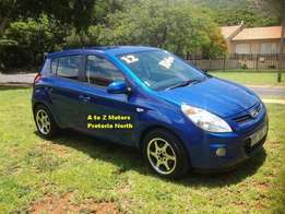 2012 Hyundai I20 1.4 Hatchback with the following km's 95718