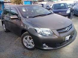 Toyota fielder(pay 60% and remaining amount in 8months