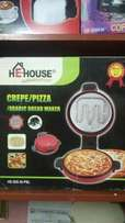 Pizzza pan and Crepemaker (pancake maker)