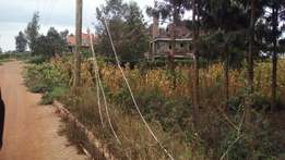 1/4 acre plot for sale Kiambu road mhasibu