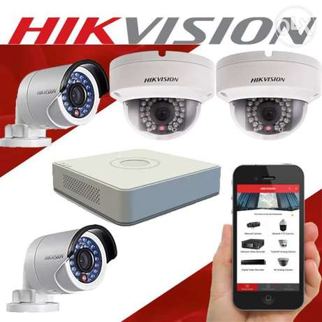 Cctv camera in home security installing