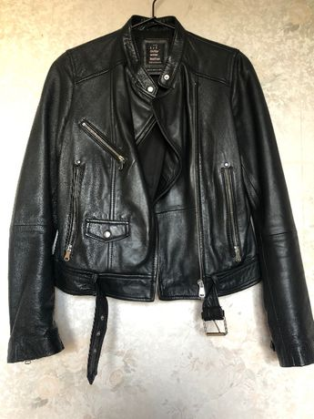 kurtka w stylu motocyklowym zara olx