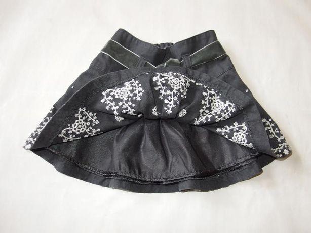 H&M zimowa spódniczka dziecięca spódnica z haftem 80 cm