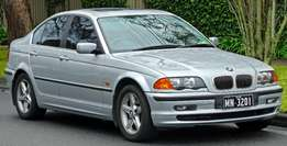 I want to buy your non-running BMW E46,E90,X5 etc. For Stripping