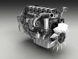 Engines and gearboxes for trucks and buses