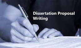 Proposal and dissertations