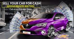 Selling your Car? We have Serious Buyers Waiting!