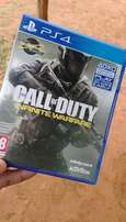 Ps4 game Call of duty infinite warfare