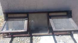 Marinate windows with burglars bars
