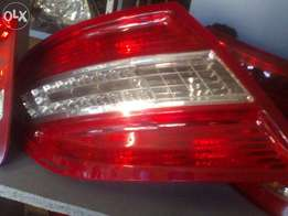 Mercedes Benz W204 L.E.D taillamps available .
