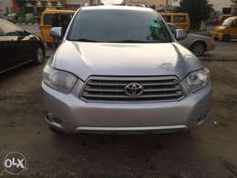 Toyota Highlander Fullest Option 2009 Foreign Üsed for sale