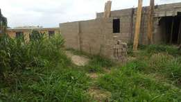 629sqm Land with C of O Ajegunle Estate Main Gate In a Close, Magboro