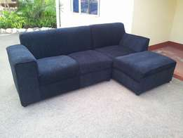 Box sofa set couches with a free table pouf at 400,000/- order now