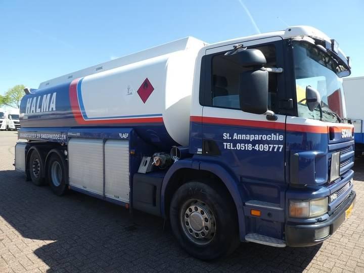 Scania P114.340 6x2*4 fuel 21000 l - 2003