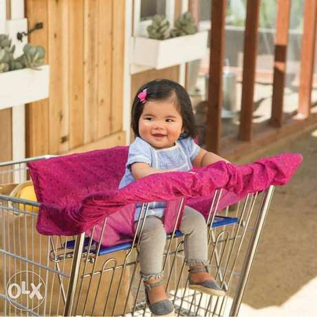 Shopping cart cover. New. Fi delivery