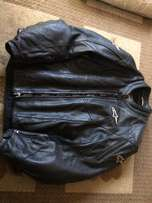 Riders' leather jacket
