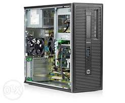 hp elitedesk 800 g1 desktop,core i7-4790,8gb ram,2 terabyte tower