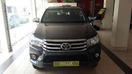 New toyota hilux bakkies available on special call me from Toyota