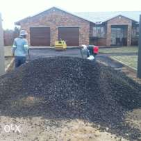 rubble removeal TLB rental All the needs Roads construction company