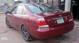 Toyota Camry '05 edition with full options.