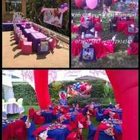 Tent Theme party,tents,themed birthday parties,chairs for hire tables