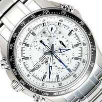 Casio Edifice White Dial