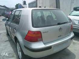 ADORABLE MOTORS: A 4-Month used Golf 4 in perfect condition for sale.