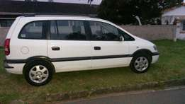 Opel zafira urgent sale needs to go seven seater