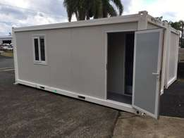 Container House - 1 bed, bath and shower.