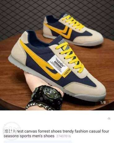2021 latest Canvas Forrest shoes Trendy Fashion Casual four seasons