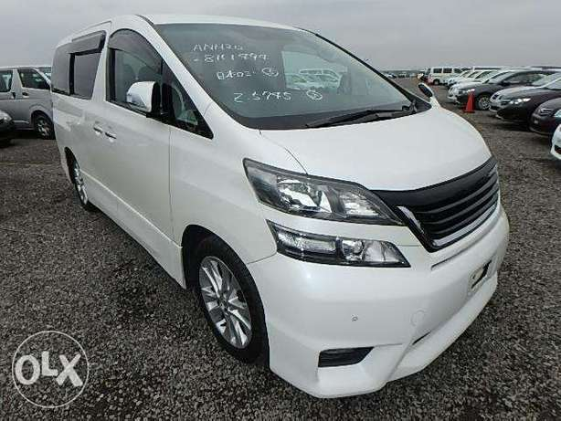 Toyota Vellfire Year 2010 Automatic 2WD 7 Seater KCP Ksh 2.39M Nairobi West - image 1