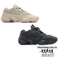 902841ce6e6 Кроссовки Adidas Yeezy Boost 500 женские Desert Rat black адидас