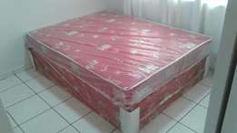 Double Bed base and mattress