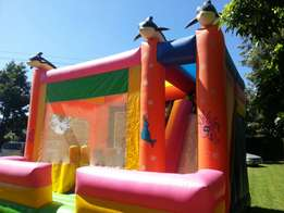 Bouncing castle and candy floss for hire