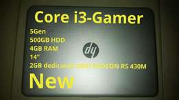 New HP Gamer Core i3