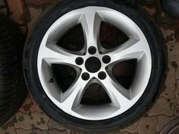 bmw mag plus tyre - good condition