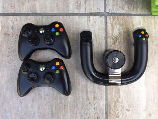 xbox 360- 12 games - steering wheel and seat Morningside - image 4