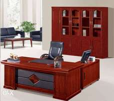 Imported office table with extension
