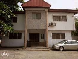 5-Br Detached House with A/cs & large compound. Rent:#3.5m (Neg)