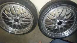 """20"""" Rezax Mags + Tyres For Sale"""