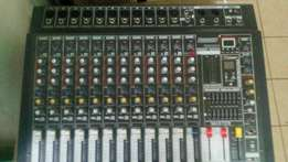Lexen 12channels powered mixer