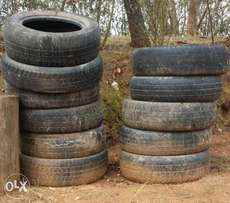 Old Car Tyres - Kitui