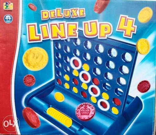 deluxe line up 4 game available!