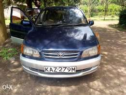 Toyota Ipsum With Alloy Wheels, seven Seater