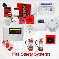 Fire alarm and protective system