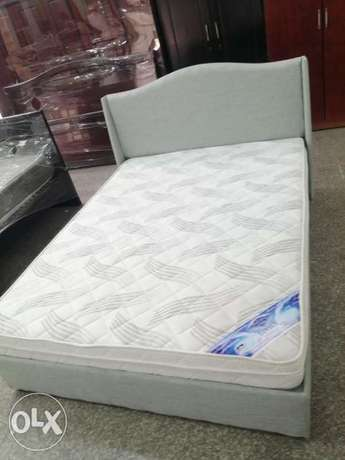 Queen size bed and dresser contact whatsapp please