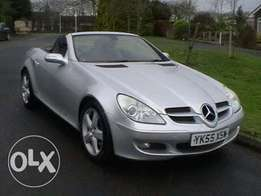 **Mercedes SLK 200 Convetible immaculate